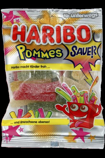 Haribo Saure Pommes 100g   Karton à 24 Stück
