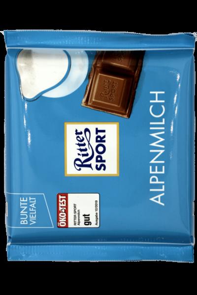 Ritter Sport Alpenmilch 100g | Karton à 12 Stück