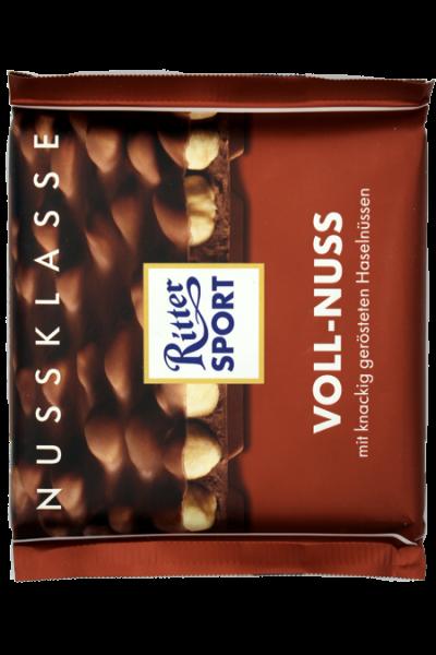 Ritter Sport Voll-Nuss 100g | Karton à 10 Stück