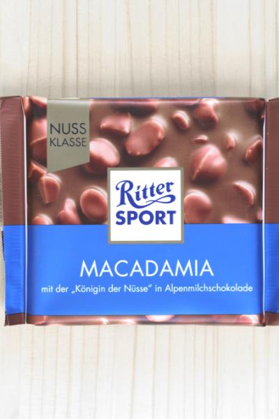Ritter Sport Macadamia 100g | Karton à 11 Stück