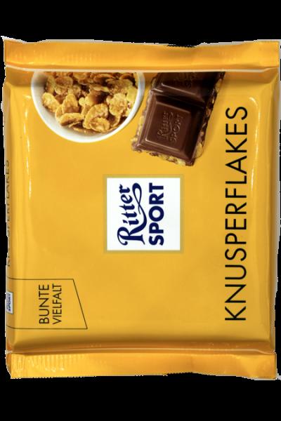 Ritter Sport Knusperflakes 100g | Karton à 10 Stück