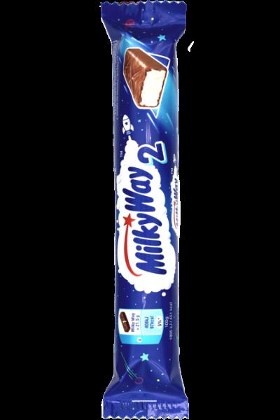 MilkyWay 43g (2x 21.5g) | Karton à 28 Stück