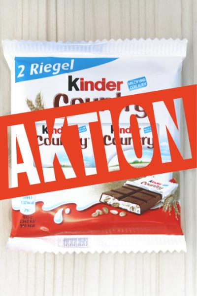 AKTION: Kinder Country 2er 47g | Karton à 20 Stück