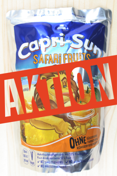 AKTION: Capri-Sun Safari Fruits 0.2l | Karton à 10 Stück