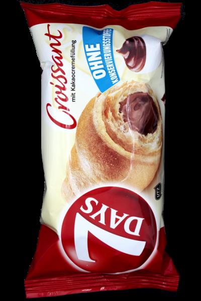 7Days Croissants Kakao 60g | Karton à 10 Stück