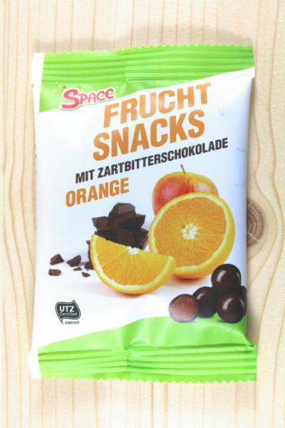 Frucht-Snacks Schoko/Orange 40g | Karton à 20 Stück