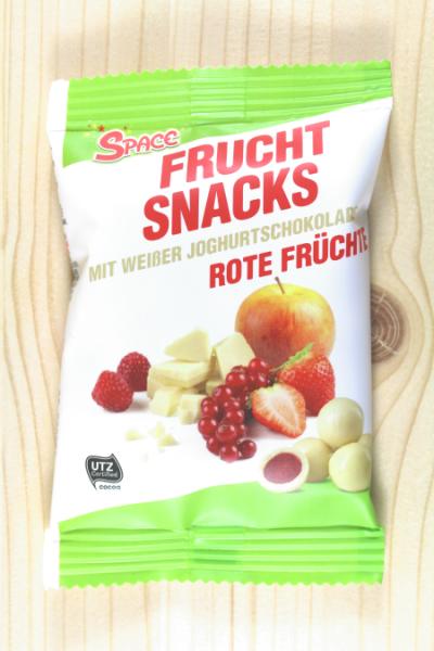 Frucht-Snacks Weisse Schoko/Früchte 40g | Karton à 20 Stück