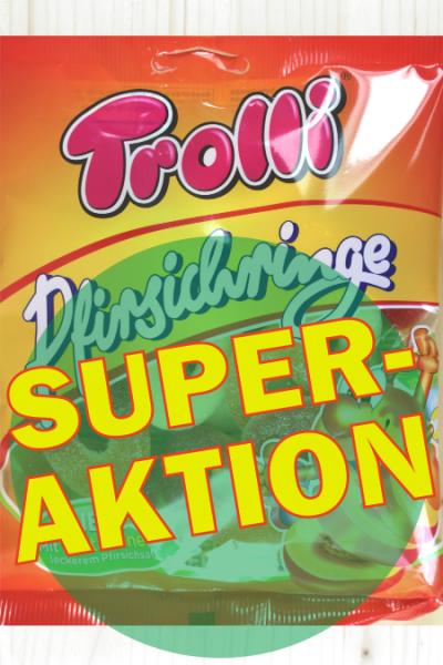 SUPER-AKTION: Trolli Pfirsichringe 150g | Karton à 21 Stück