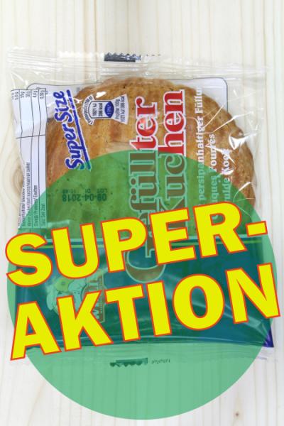 SUPER-AKTION: Gefüllter Kuchen 100g | Karton à 24 Stück