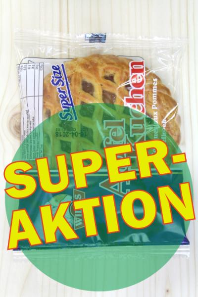 SUPER-AKTION: Apfel-Kuchen 100g | Karton à 24 Stück