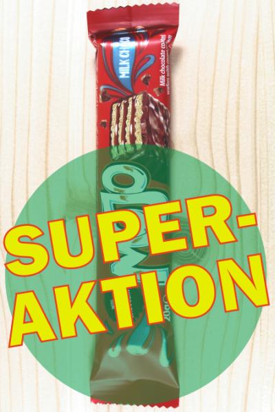 SUPER-AKTION: Mojo Riegel Schoko 20g | Karton à 24 Stück