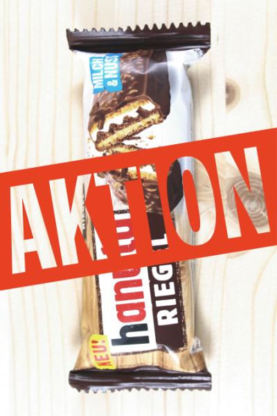 AKTION: Hanuta Riegel 1er 34.5g | Karton à 14 Stück
