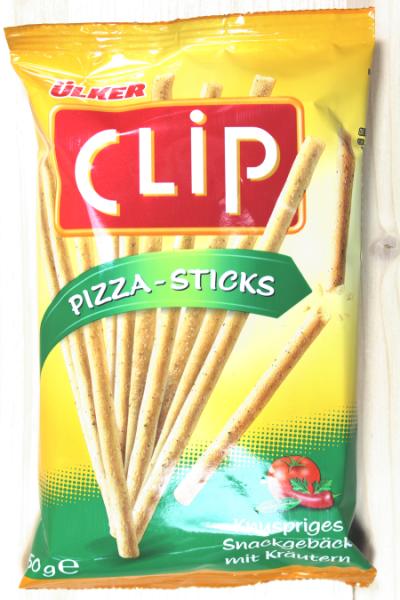 Ülker Clip Pizza-Sticks 50g | Karton à 64 Stück