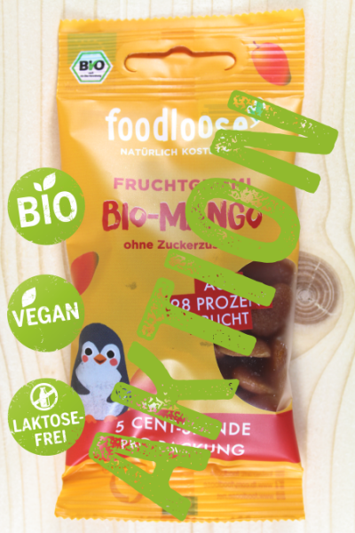 SUPER-AKTION: Bio-Fruchtgummi Mango 30g | Stück