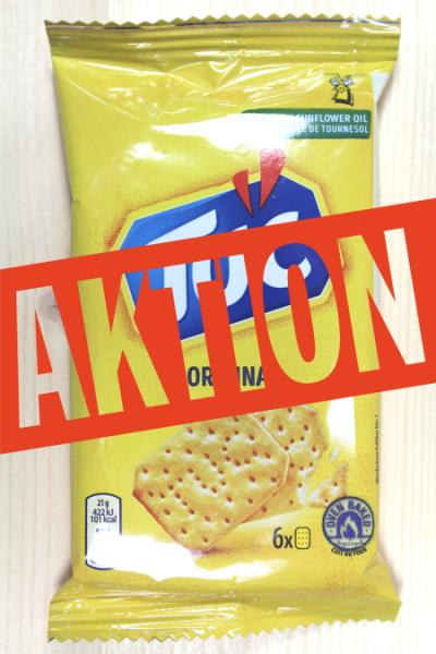 AKTION: TUC Original 21g | Karton à 24 Stück